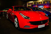 Ferrari on display at Bangkok International Auto Salon 2013 — Stock Photo