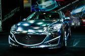 Mazda 3 on display at Bangkok International Auto Salon 2013. — Stock Photo