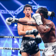 ������, ������: Antoine Pinto of France and Tu Warren of USA in Thai Fight Extreme 2013
