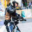 Stock Photo: Cosplayer as characters Metal Gear Solid from Vedio Game in JapFestin Bangkok 2013.