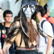 Cosplayer as characters from The Lone Ranger Movie in Japan Festa in Bangkok 2013. — Stock Photo