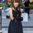 Stock Photo: Cosplayer as characters MisAmane from Death Note in JapFestin Bangkok 2013.