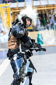 Cosplayer as characters Metal Gear Solid from Vedio Game in Japan Festa in Bangkok 2013. — Stock Photo