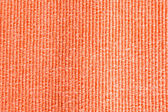Orange Synthetics Fabric Rough Texture use for Background. — Stock Photo