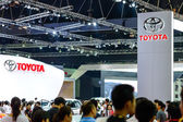 TOYOTA booth at The 35th Bangkok International Motor Show. — Stockfoto