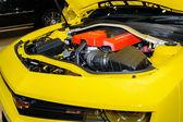 Engine Chevrolet Camaro ZL1. — Stockfoto
