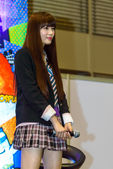 Yamada Akari from Yumemiru Adolescence Group in Thailand Comic Con 2014. — Stock Photo