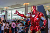 Iron Man model in Thailand Comic Con 2014. — Stock Photo