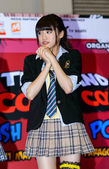 Shida Yumi from Yumemiru Adolescence Group in Thailand Comic Con 2014. — Stock Photo