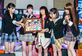 Yumemiru Adolescence Group in Thailand Comic Con 2014. — Stock Photo