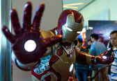 BANGKOK - MAY 10 : Iron Man model in Thailand Comic Con 2014 on — Stock Photo