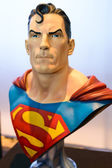BANGKOK - MAY 10 : Superman model in Thailand Comic Con 2014 on  — Stock Photo