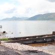 Stock Video: Panoramic of Loch Ness