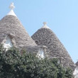 Trulli, a traditional apulian dry stone hut — Stock Video