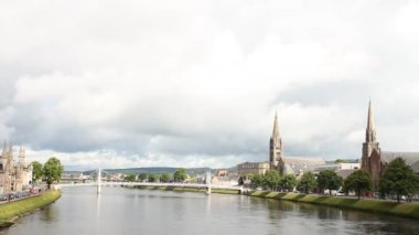 The river in Inverness — Vídeo de Stock