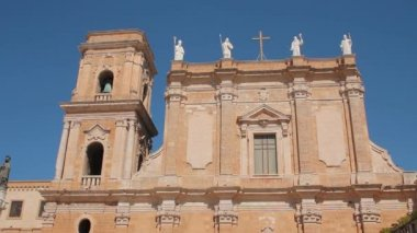 Cathedral of Brindisi — Stock Video