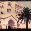 Stock Video: Vintage 8mm. Church in Monaco