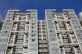 Tall apartment buildings — Stock Photo