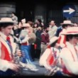 Stock Video: Vintage 8mm. Festive parade
