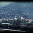 Stock Video: Vintage 8mm. View of Brixen