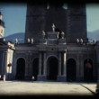 Stock Video: Vintage 8mm. Church in Brixen