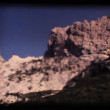 Stock Video: Vintage 8mm. Dolomite mountains