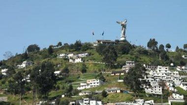 El Panecillo, Quito — Stock Video