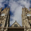 Stock Photo: Basilicof national vow, Quito