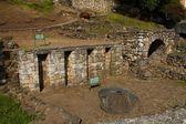 Incké ruiny v cuenca, ekvádor — Stock fotografie