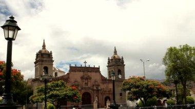 Catedral de ayacucho — Vídeo de Stock