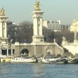 Bridge Alexandre III in Paris — Stock Video
