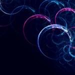 renkli yumuşak büküm ışık arka plan hatları — Stok fotoğraf