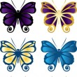 Butterfly Icon — Stock Vector #35734885