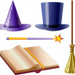 Props wizard — Stock Vector