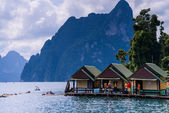 Cheo Lan lake. Khao Sok National Park. Thailand. — Stock Photo