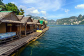 Khao Sok National Park, Mountain and Lake in Thailand — Stock Photo
