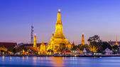 Prang of Wat Arun, Bangkok ,Thailand — Stock Photo