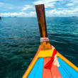 Head long tail fisherman boat in Andaman sea — Stock Photo #32721647