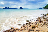 Idyllic Scene Beach at Ngai Island, Thailand — Stock Photo