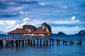 コ ngai 島タイのアンダマン海の景色 — ストック写真
