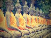 Buda heykelleri — Stok fotoğraf