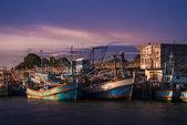 Rybářská loď — Stock fotografie