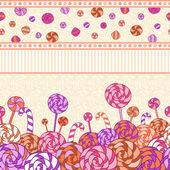 Sweet background — Stock Vector
