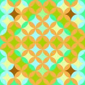 Soyut geometrik sanatsal desen — Stok Vektör