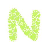 письмо n — Cтоковый вектор