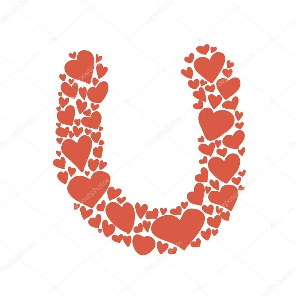 u alphabet design - photo #36