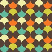 Abstrakt retro geometriska mönster — Stockvektor
