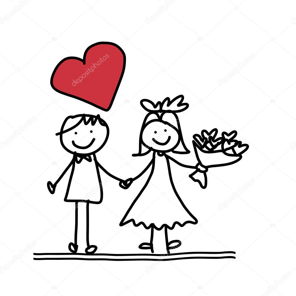 Cute Happy Drawings Hand Drawing Cartoon of Happy