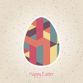 Easter egg pattern — Stock Vector
