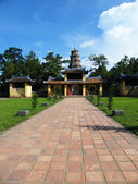 Thien Mu pagoda monastery — Stock Photo